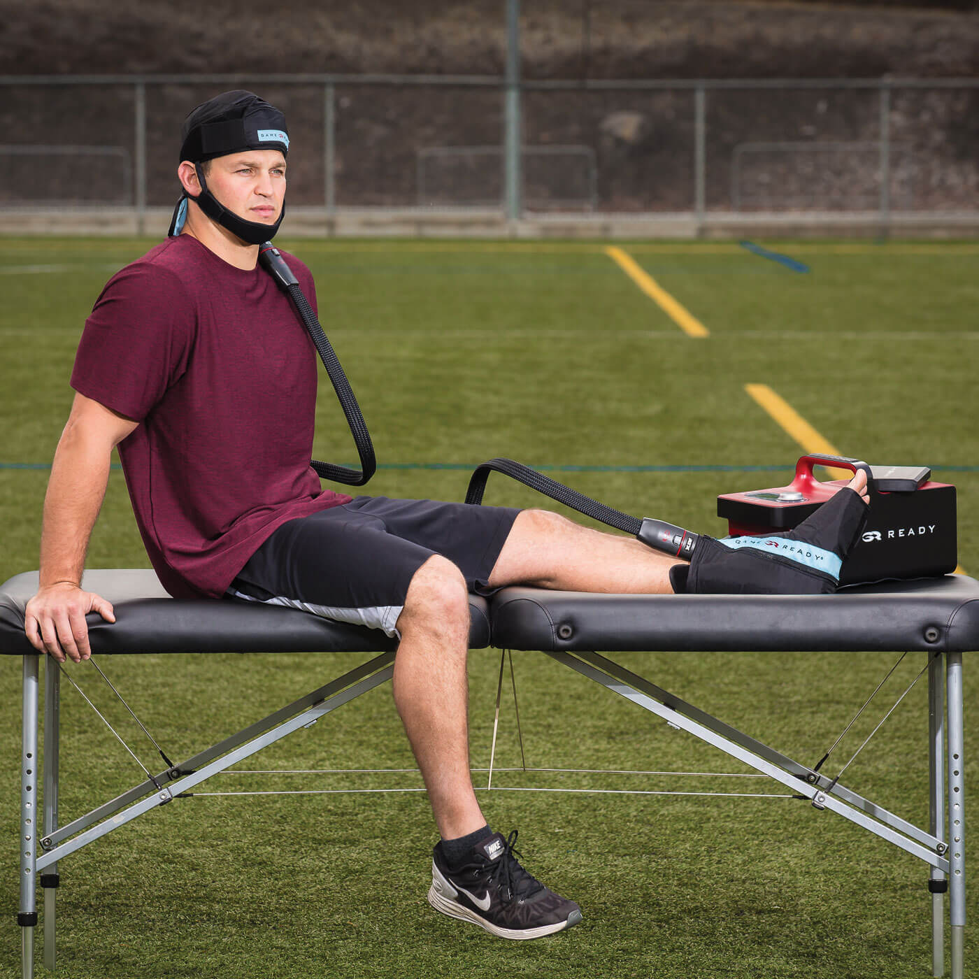 GRPro® 2 1 Cold Therapy Unit | Cryotherapy Unit for Athlete